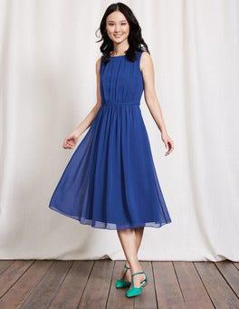 Imperial Blue Maria Dress