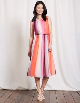 Ombre Stripe Maria Dress