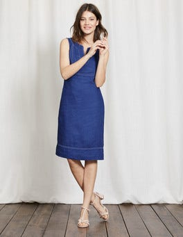 Santorini Blue Abigail Dress