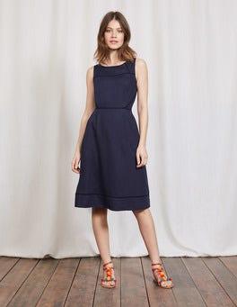 Navy Zoe Dress