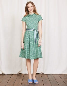 Greenhouse Mono Vine Sophia Shirt Dress