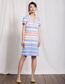 Multi Stripe Rosemary Dress