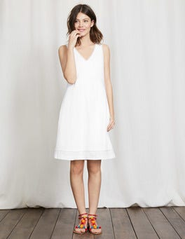 White Valencia Dress