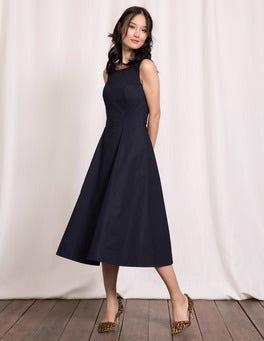 Navy Elena Dress