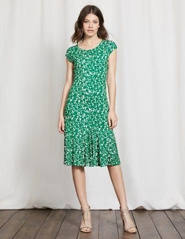 Greenhouse Shadow Floral Avril Jersey Dress