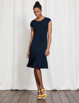 Navy Avril Jersey Dress