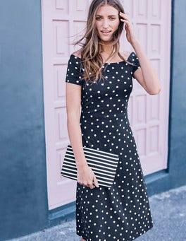 Hazel Ponte Dress