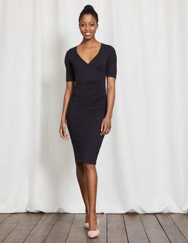Navy Ruth Jersey Dress