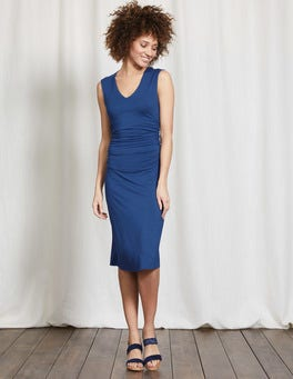 Imperial Blue Cosima Jersey Dress