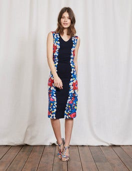 Multi Bloom Placement Cosima Jersey Dress