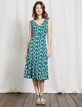 Greenhouse Daisy Leaf Georgia Jersey Dress