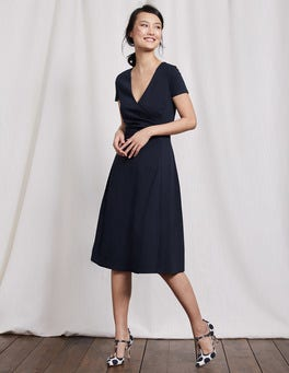 Navy Alicia Ponte Dress