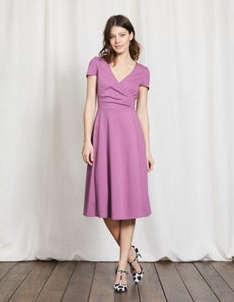 Wisteria Blooms Alicia Ponte Dress