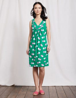 Meadow Green Pop Spot Tarifa Dress