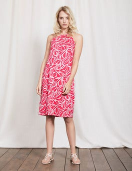 Coral Reef Swirl Frances Jersey Dress
