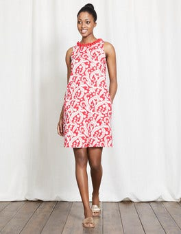 Coral Reef Acanthus Leaf Melody Jersey Dress