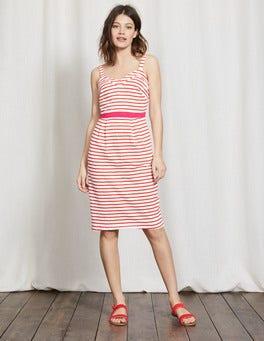 Ivory/Snapdragon Aurelie Jersey Dress