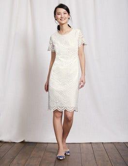 Ivory Isadora Broderie Dress