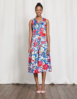 Multi Bloom Josephine Dress