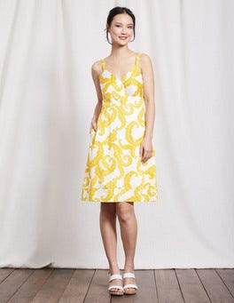Mimosa Acanthus Leaf Nicole Dress