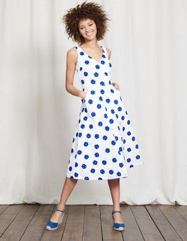 meadow Spring Scattered Spot Vanda Broderie Dress