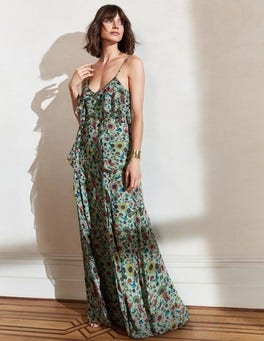 Grace Silk Maxi Dress