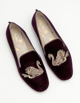 Violetta Embellished Slippers