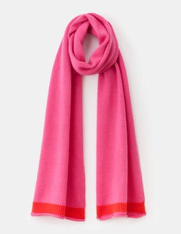 Party Pink Cashmere Scarf