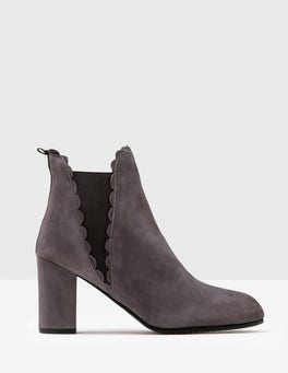 Pewter Alnwick Ankle Boots