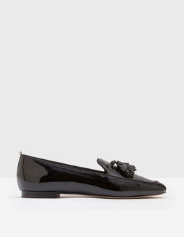 Black Ines Loafers