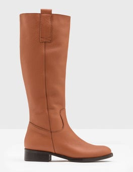 Hellbraun Shetland Kniehohe Stiefel