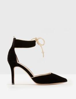 Black Sabrina Heels