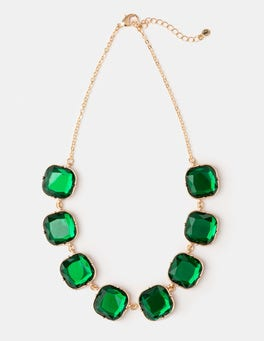 Highland Green/Party Pink Genevieve Necklace