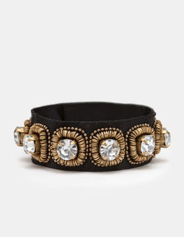 Black Embellished Cuff