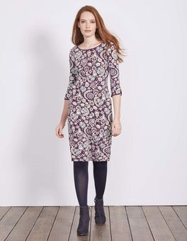 Black Forest Arabesque Jessie Jersey Dress
