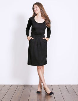 Black Mabel Jersey Dress