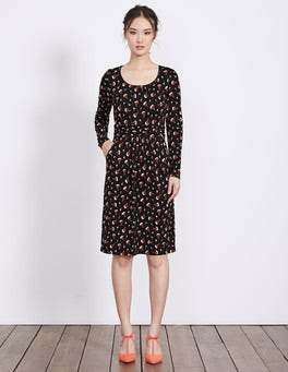 Black Bud Mabel Jersey Dress