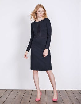 Navy Gisele Ponte Dress