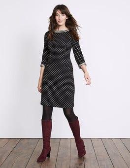 Justine Jacquard Dress