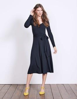 Navy Silvia Jersey Dress