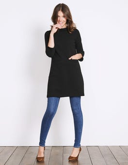 Black Louise Jersey Tunic
