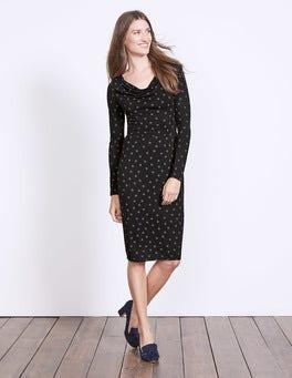 Helena Cowl Neck Dress
