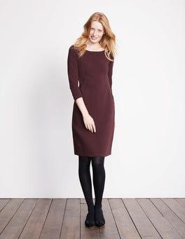 Brigitte Kleid aus strukturiertem Jersey