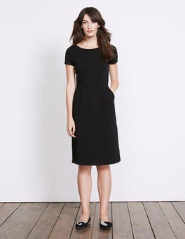 Black Phoebe Jersey Dress
