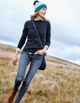 Tessa Button Neck Sweater