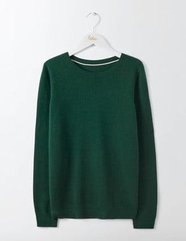 Emerald Night Cashmere Crew Jumper