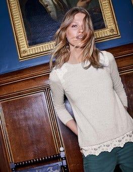 Vanessa Woven Mix Sweater