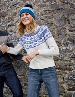 Heather Fair Isle Jumper