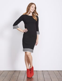 Black Matilda Knitted Dress