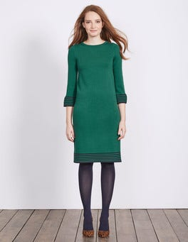 Deep Forest Matilda Knitted Dress